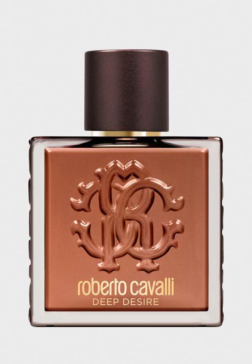 Roberto Cavalli Deep Desire Uomo Eau de Toilette 100ml