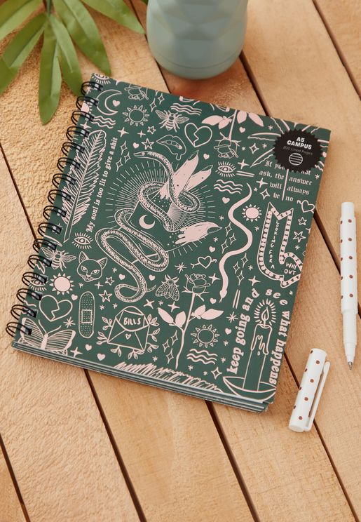A5 Keep Going Campus Notebook