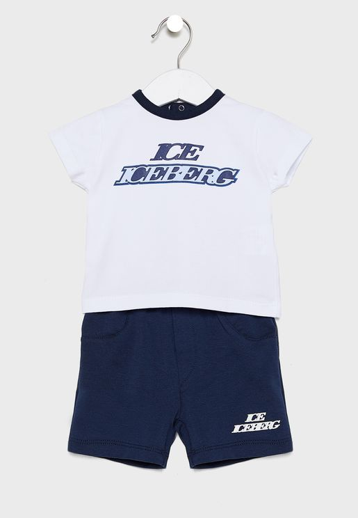 Infant Logo T-Shirt + Shorts Set