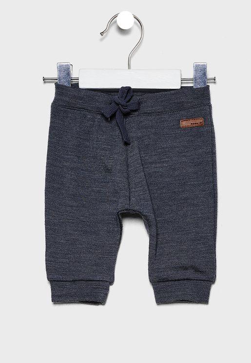 Infant Tie Waist Sweatpants