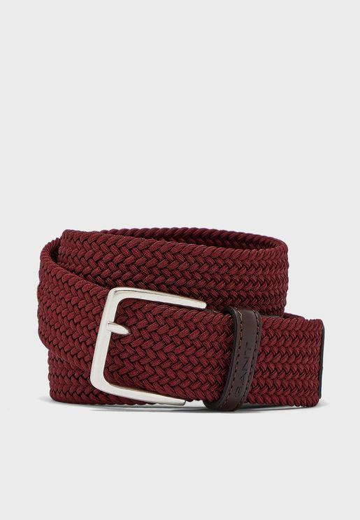 Elastic Braid Belt