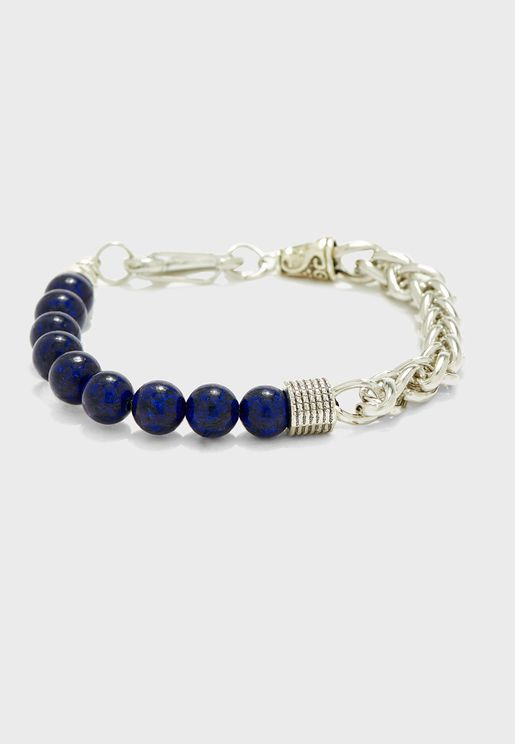 Bead And Chain Causal Bracelet