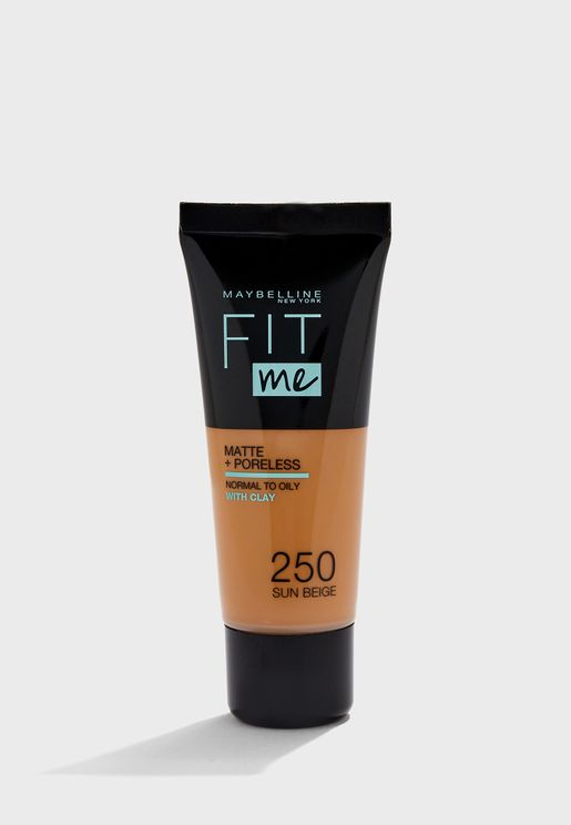 Fit Me Matte & Poreless Foundation - 250