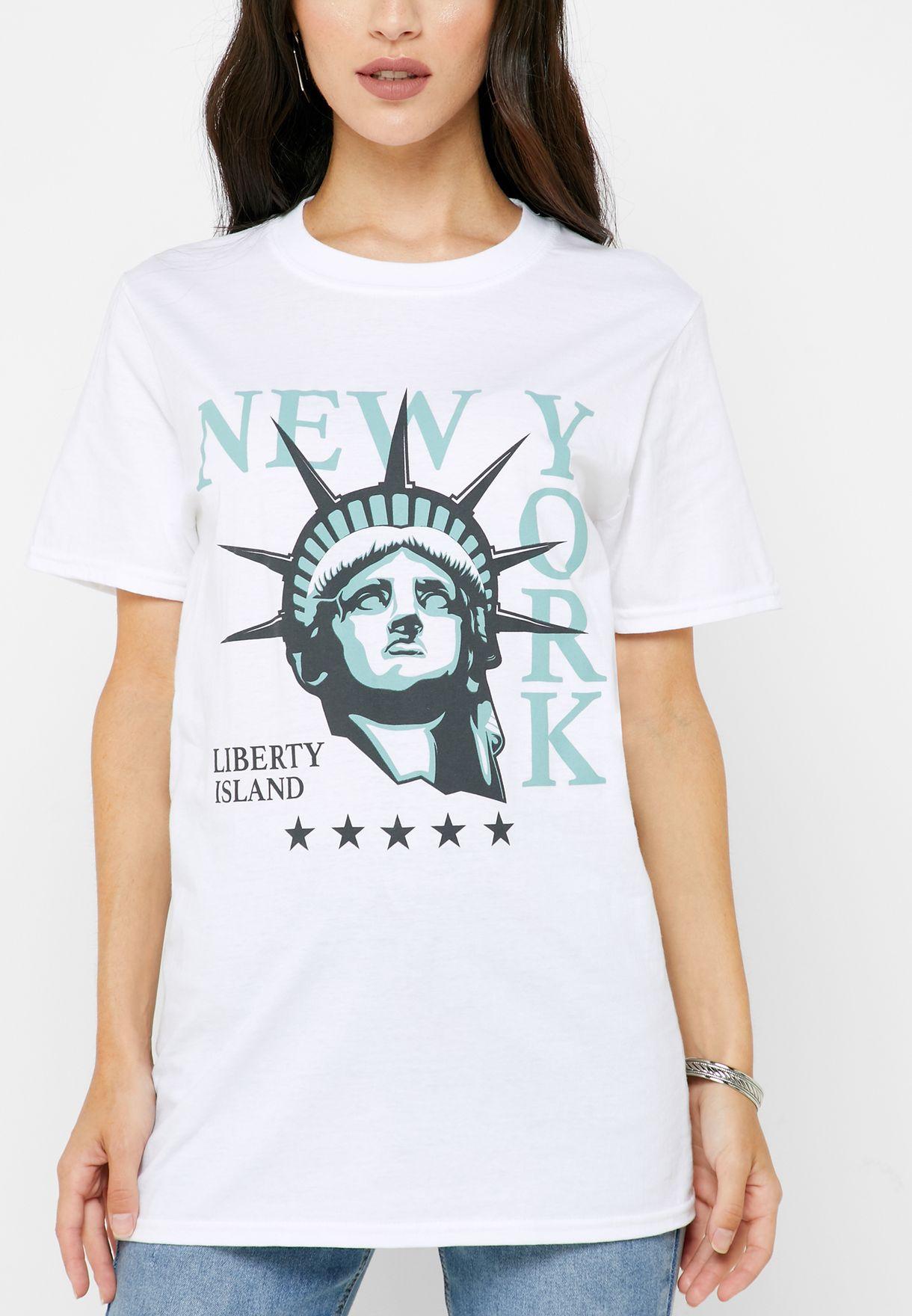 NY Print T-Shirt