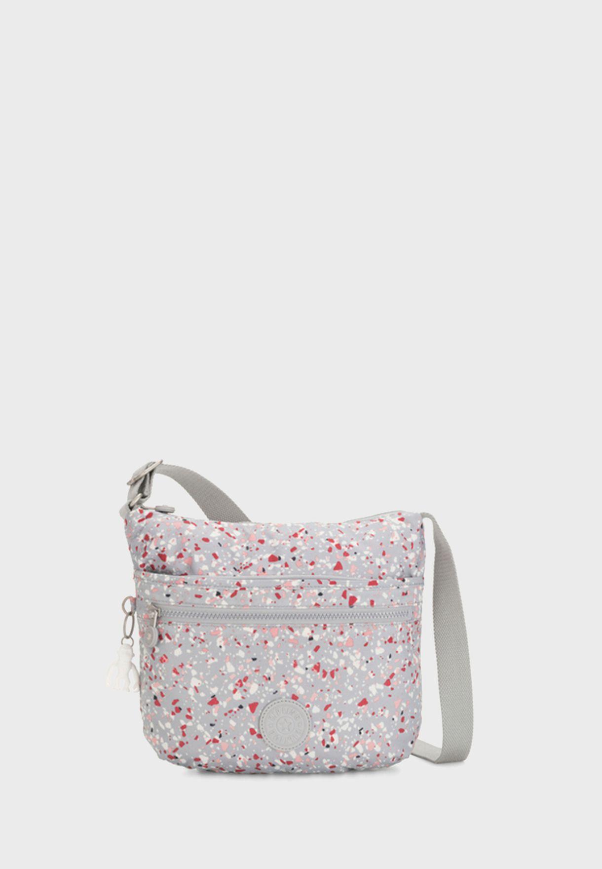 Arto Speckled Messenger Bag