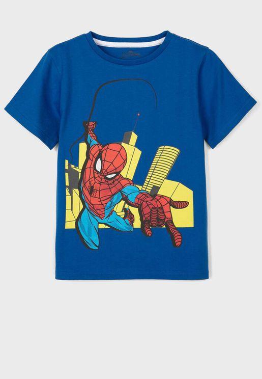 Kids Spiderman T-Shirt