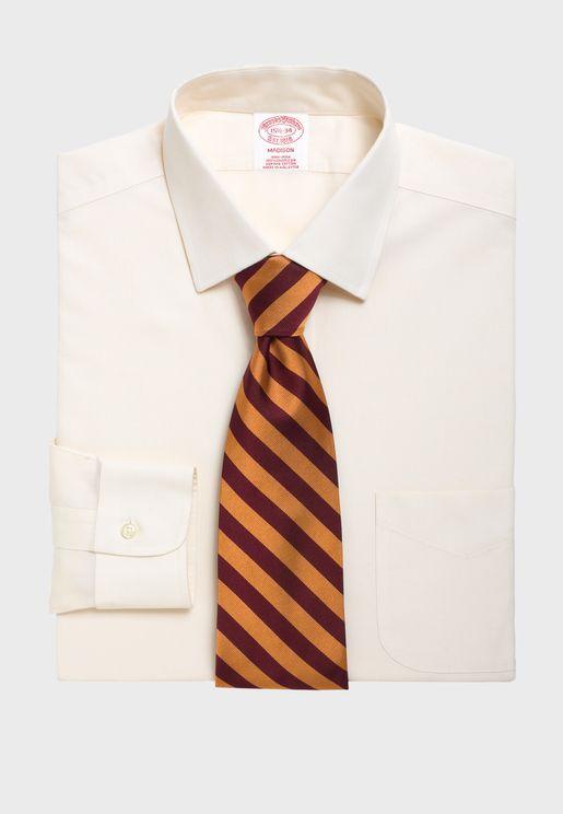 Regular Fit Spread Collar Shirt