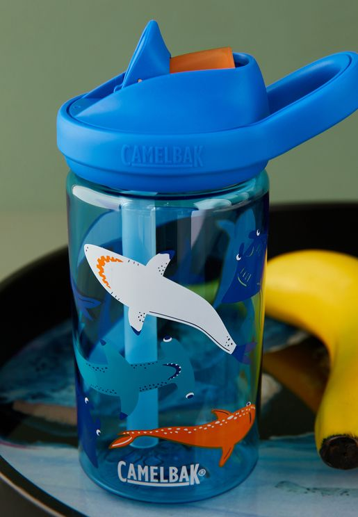 Eddy Shark Squad Water Bottle - 415ML