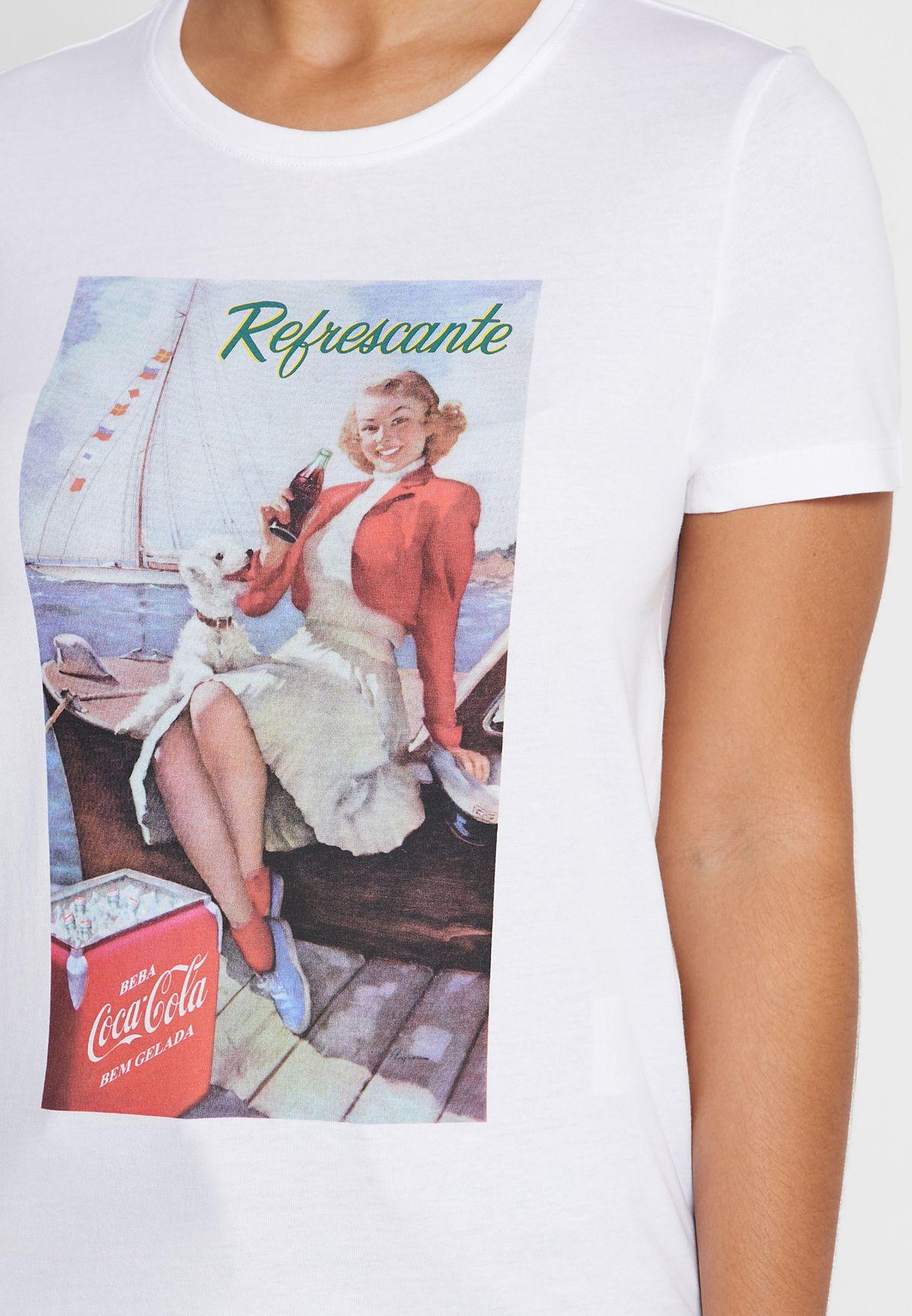 Coca Cola Graphic T-Shirt