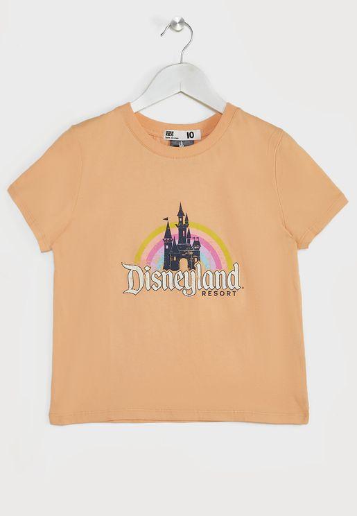 Youth Rainbow Castle T-Shirt