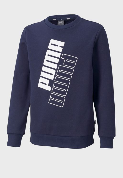 Youth Power Logo Sweatshirt