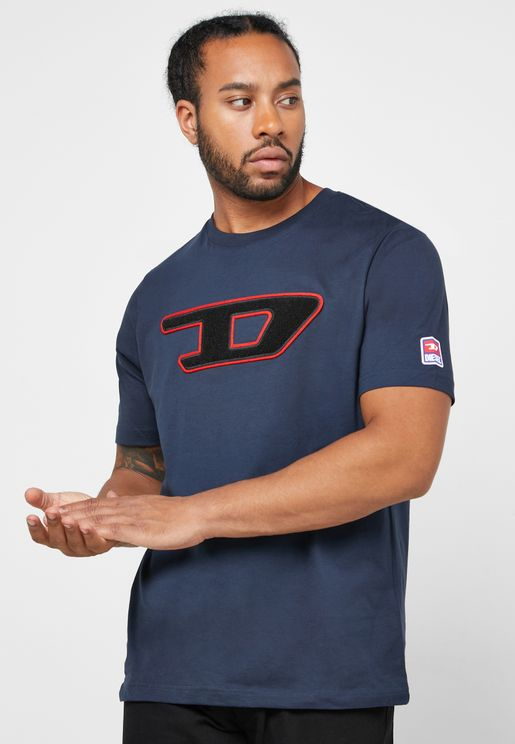D Logo Crew Neck T-Shirt