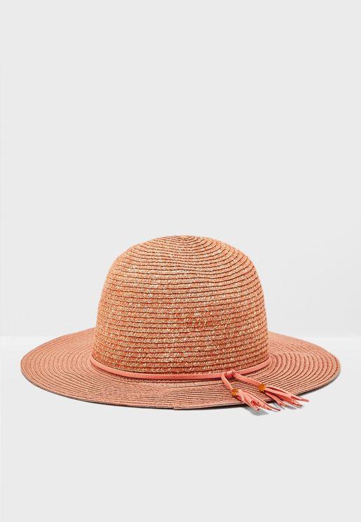 Tassel Fedora Straw Hat