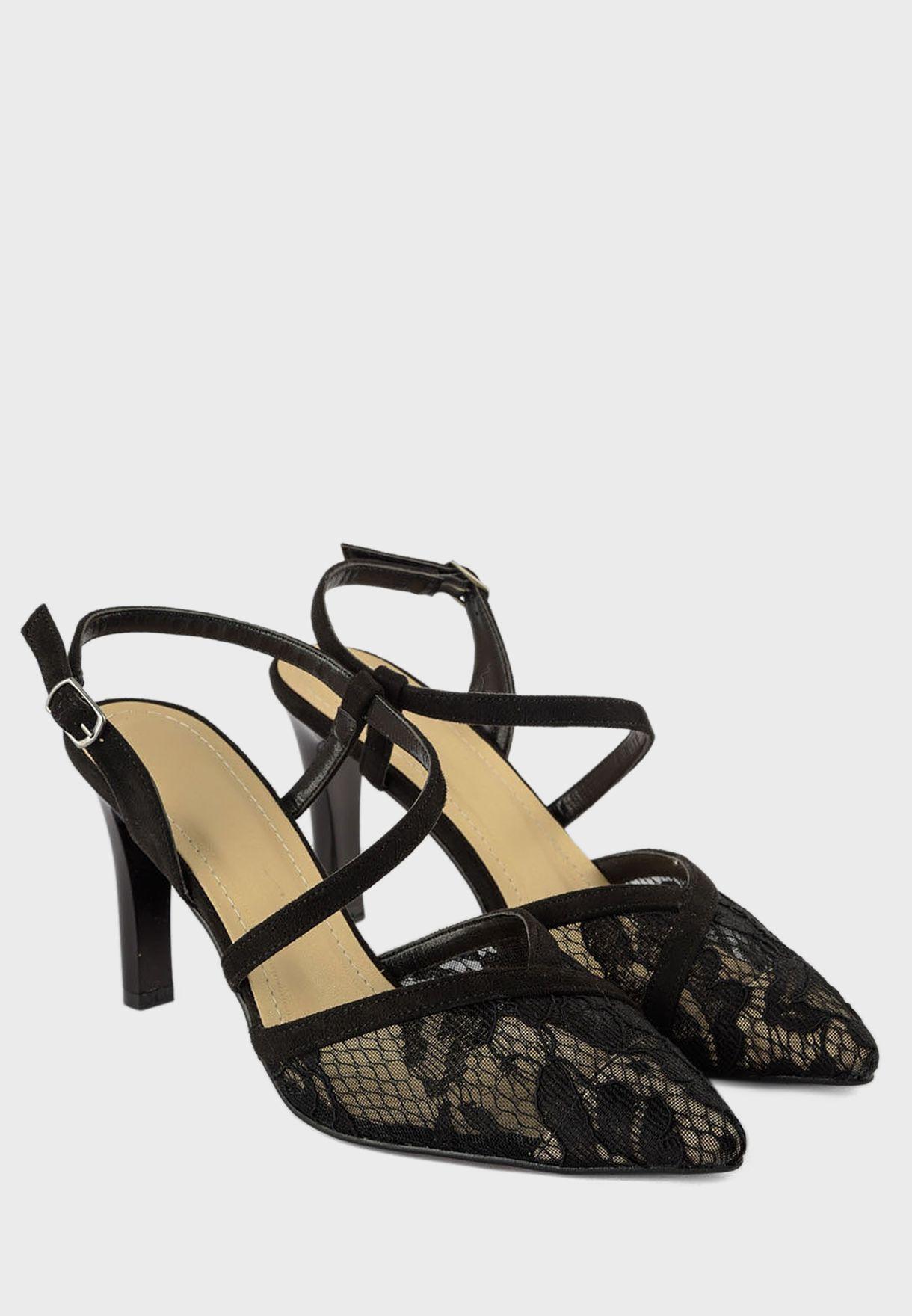 Trendyol Buckled Detail High Heel Pump - Brand Shoes