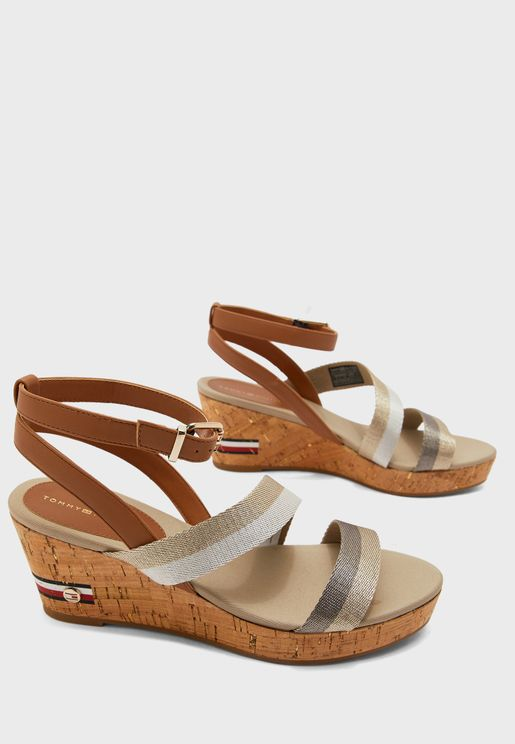 Corporate Mid Wedge Sandal