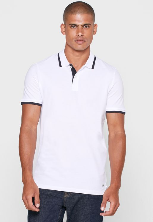 Contrast Edge Polo