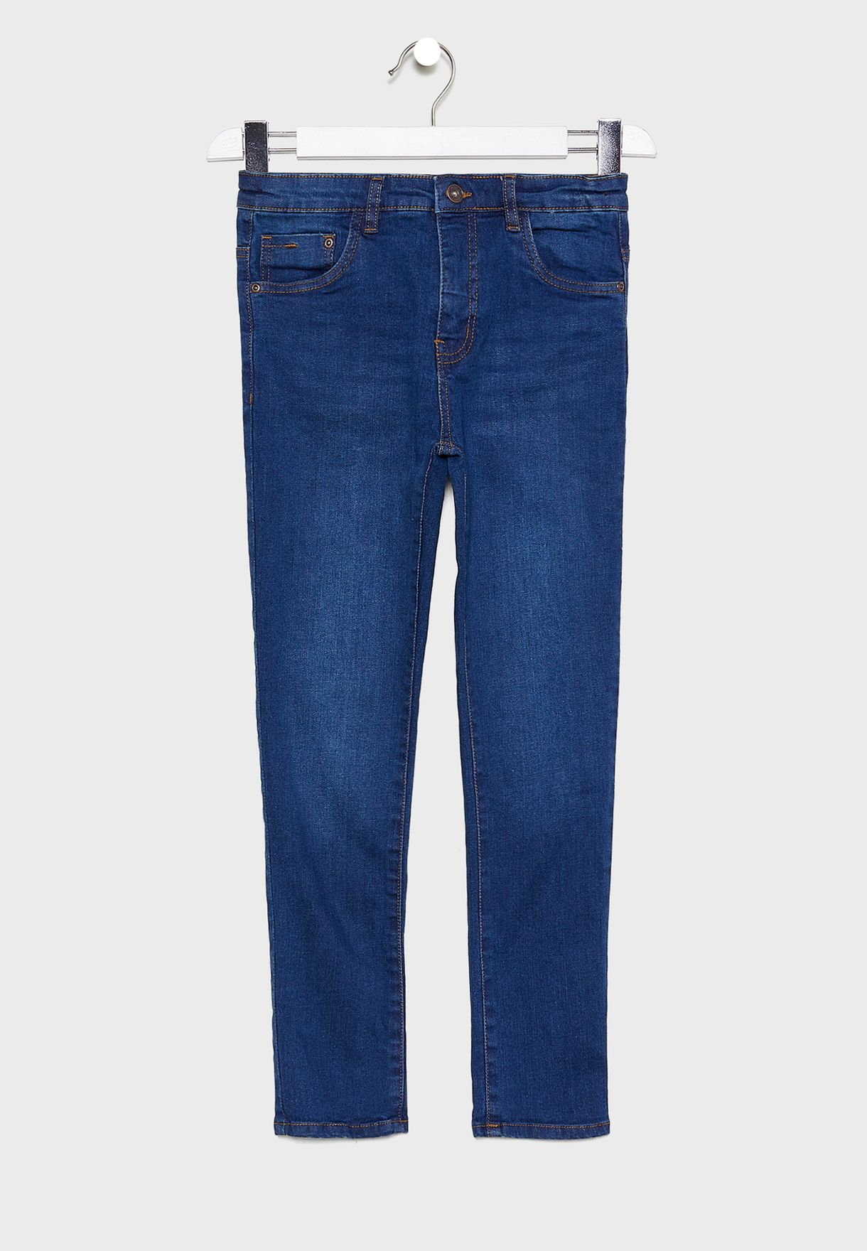 Teen Mid Wash Jeans