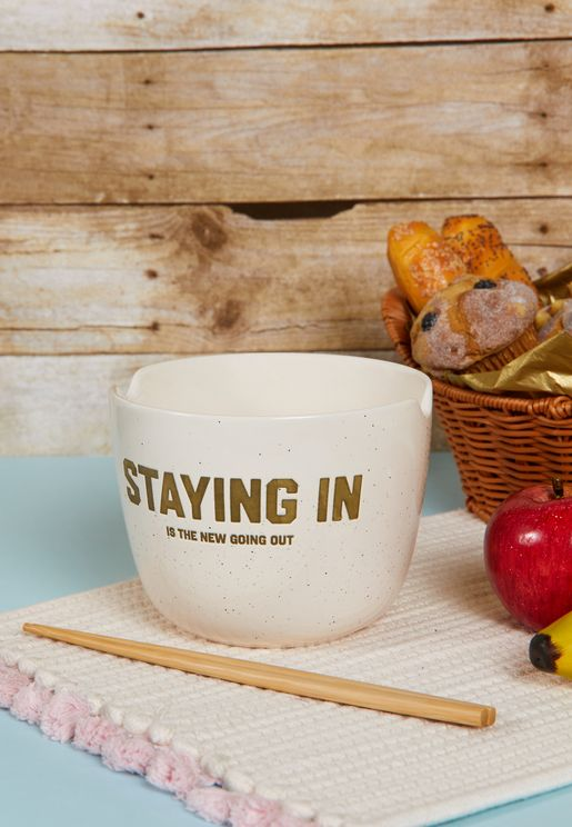 Staying In Bowl