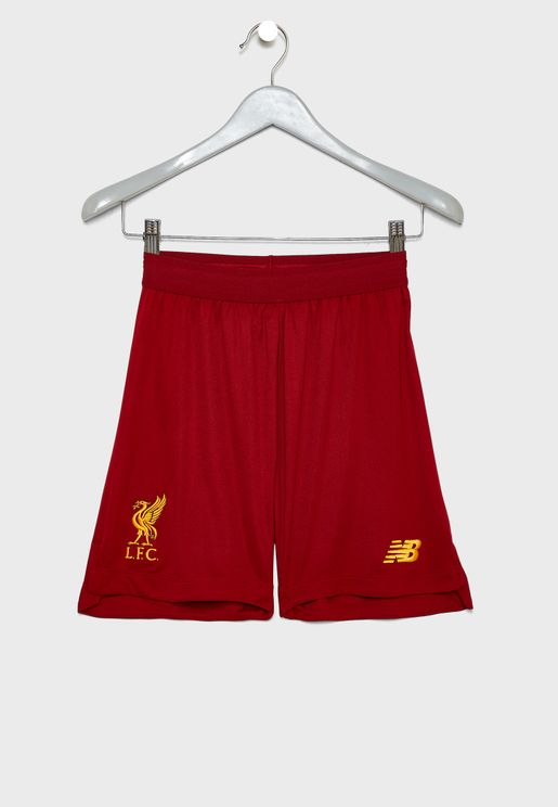 Youth Liverpool FC Home Shorts