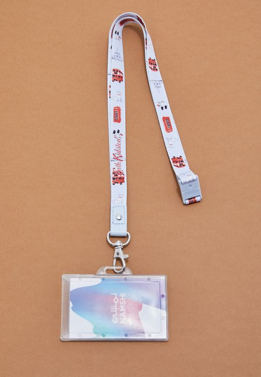 Lanyard Mini London Icons