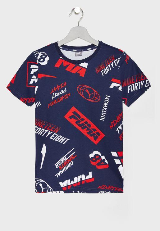 Kids Alpha AOP T-Shirt b3b4d6623