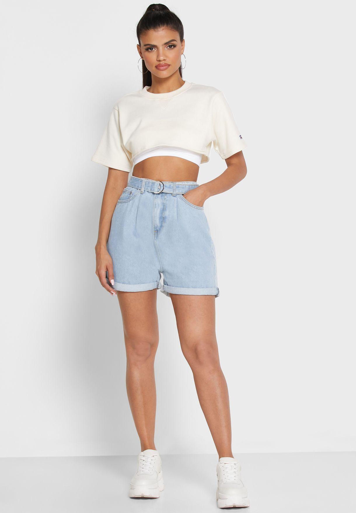 Riot High Waist Shorts