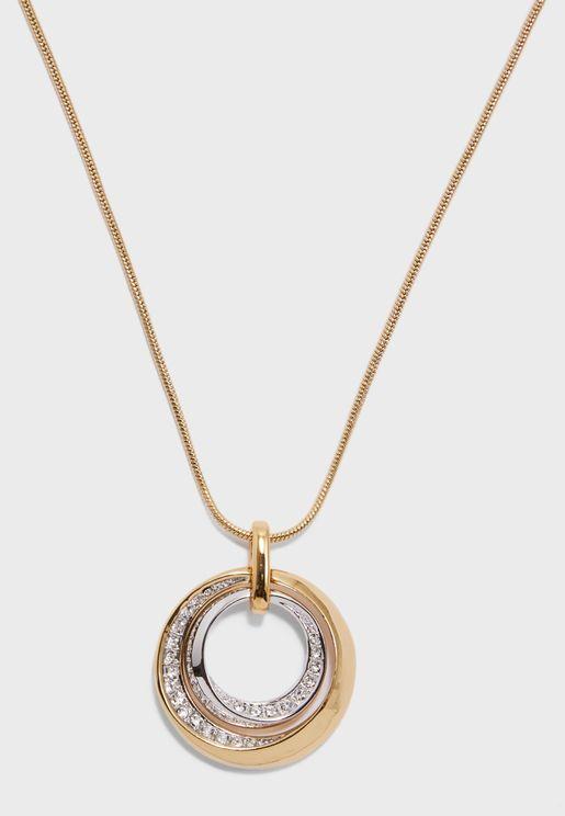 Lunar Pendant Necklace