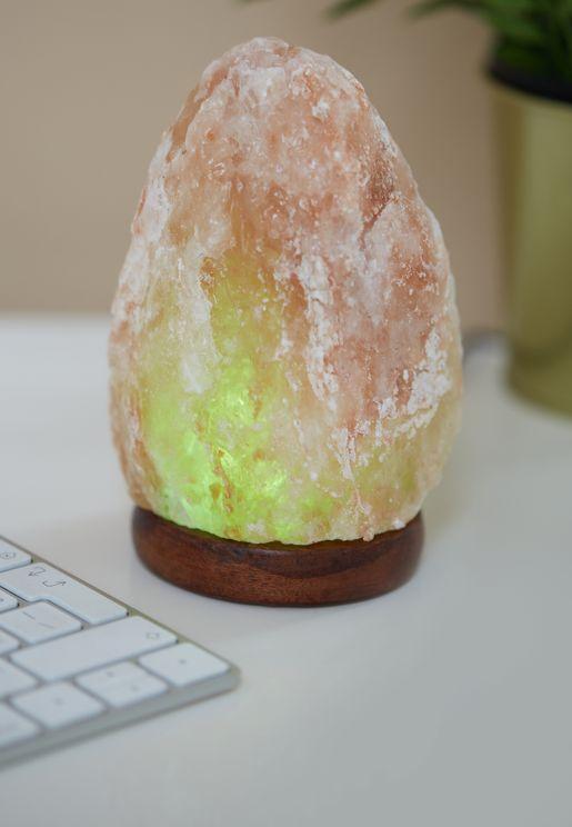 مصباح من املاح الهيمالايا بمنفذ كيبل USB