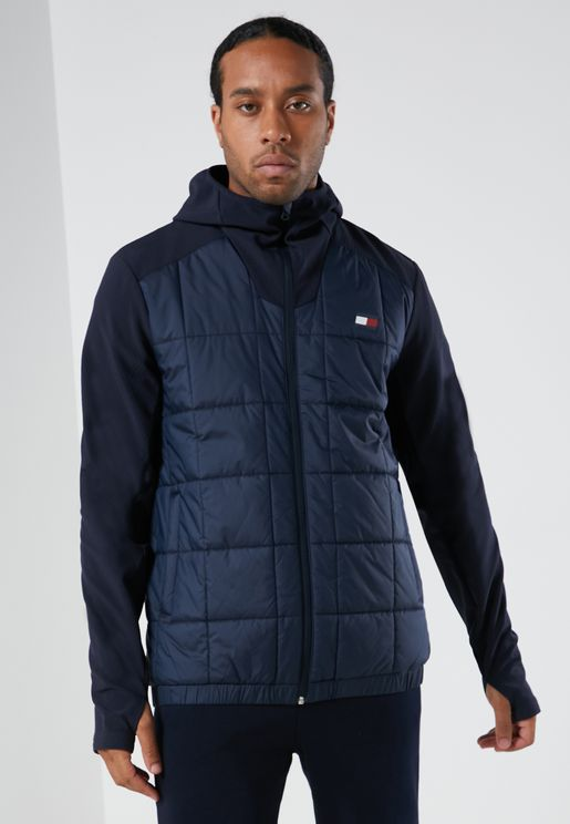 Transitional Colour Block Padded Jacket