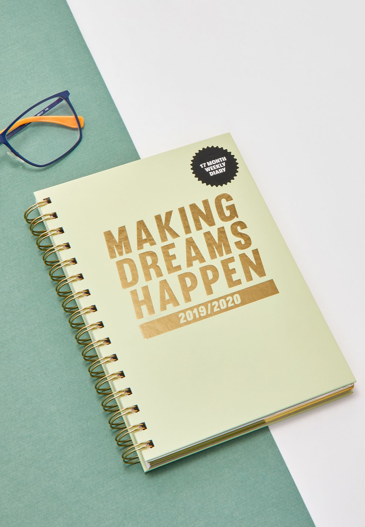 A5 2019/20 Making Dreams Happen Diary