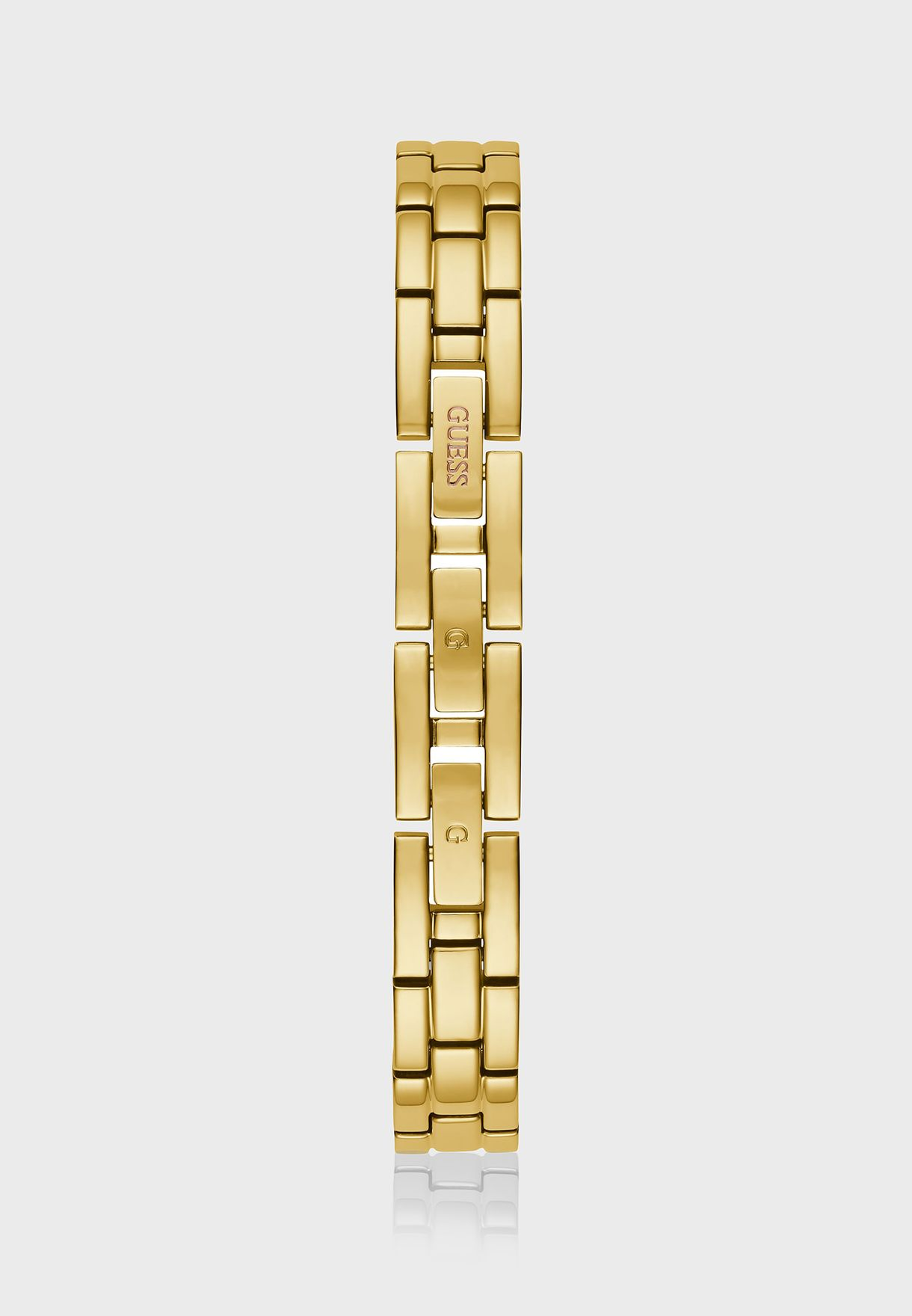 ساعة انالوج مزينة بشعار الماركة