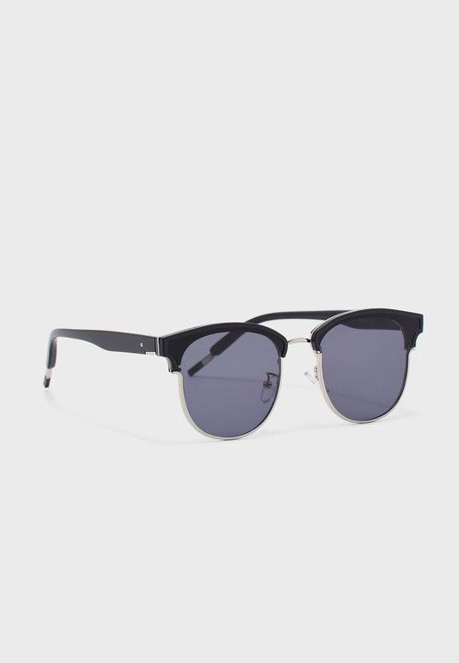 نظارة شمسية بدون حواف
