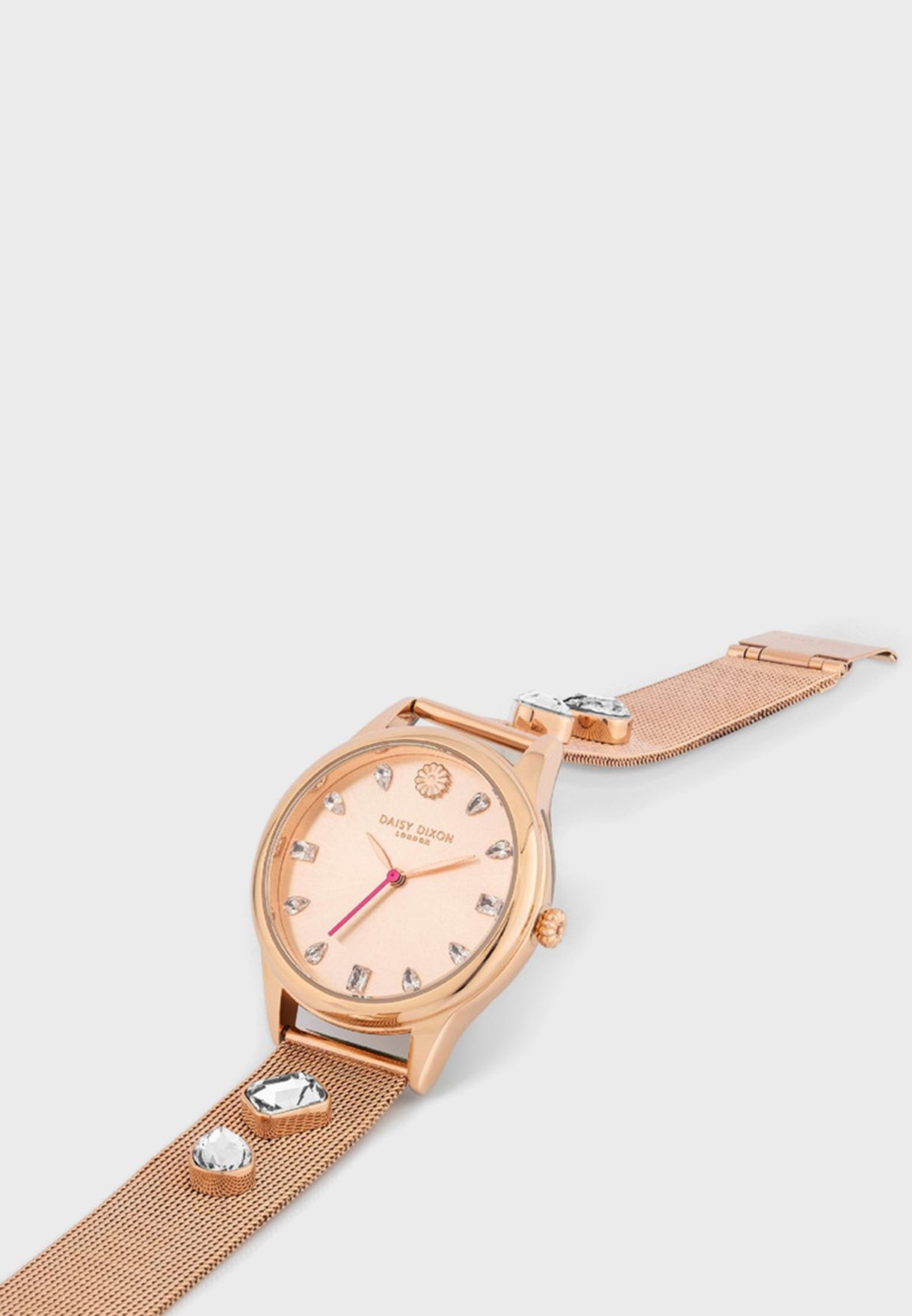 Lily Quartz Analog Watch With Clutch