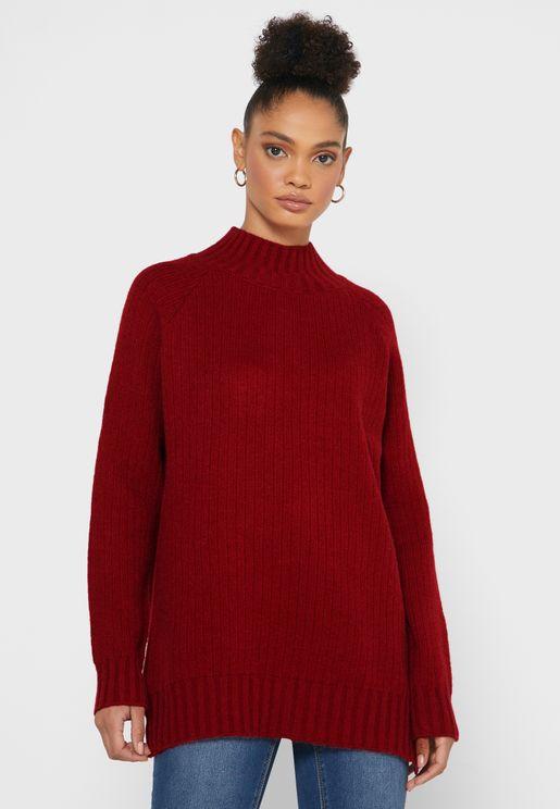 Polo Neck Sweater