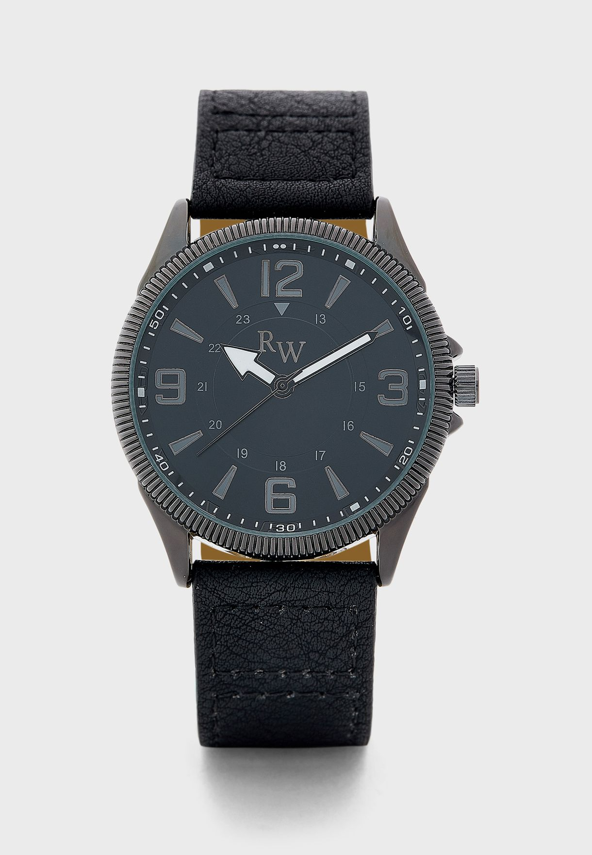 Large Numbers Analogue Watch