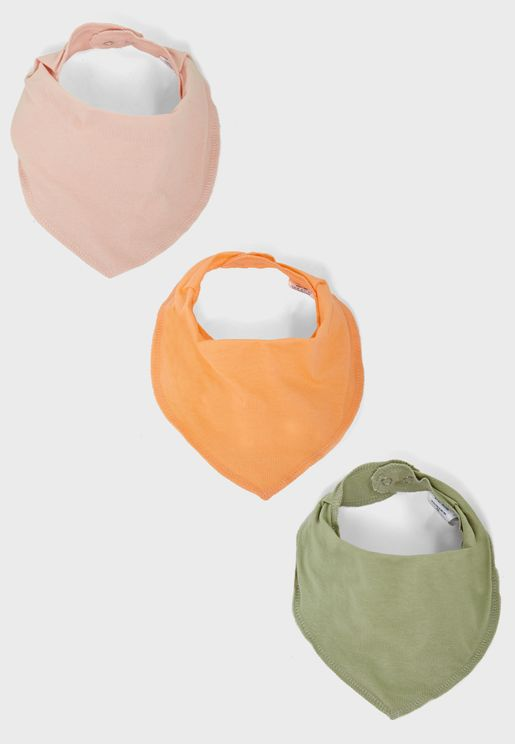 Infant 3 Pack Bibs