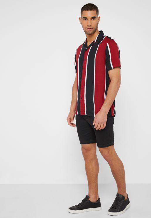 c2794f06f57 Stretch Skinny Fit Shorts