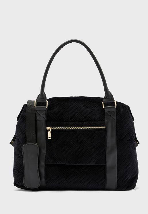 Quilted Slouge Weekend Holdall