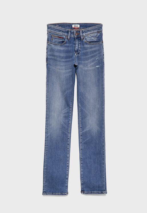 Dyaubst Slim Fit Jeans