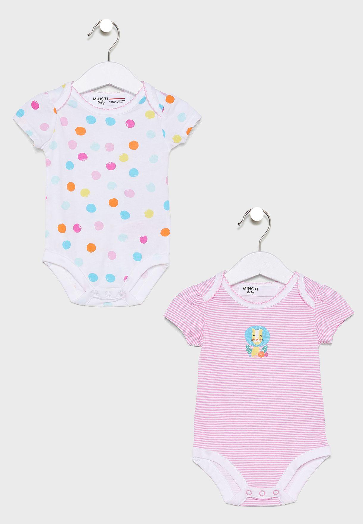 Infant 2 Pack Printed Bodysuit