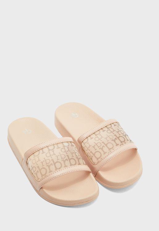 Ciclamino Flat Sandal
