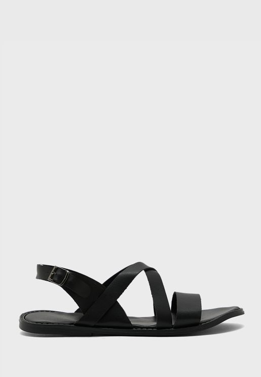 Casual Back Strap Flat Sandals