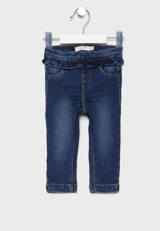 Kids Denim Jegging