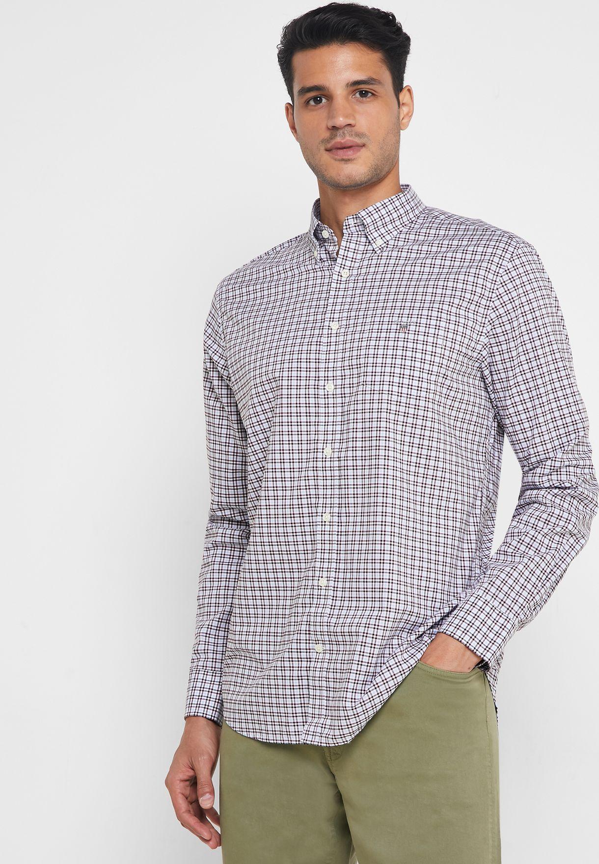Gingham Regular Fit Shirt