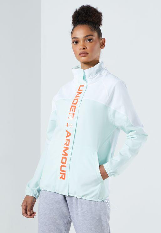 Recover Woven Colour Block Jacket
