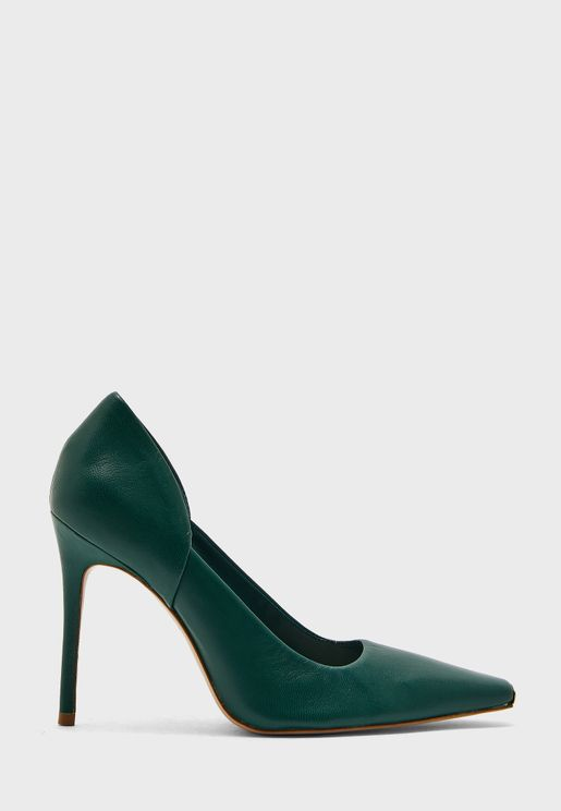 Pointed Toe High Heel Pump