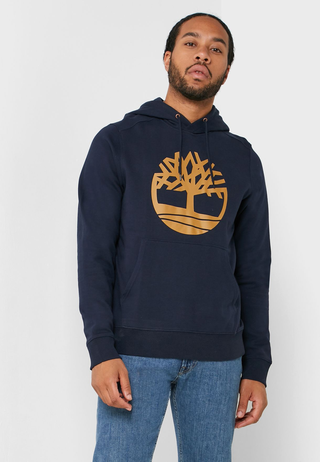 Insatisfecho formar ajo  Buy Timberland navy Core Tree Logo Hoodie for Men in MENA, Worldwide |  A1ZKY433