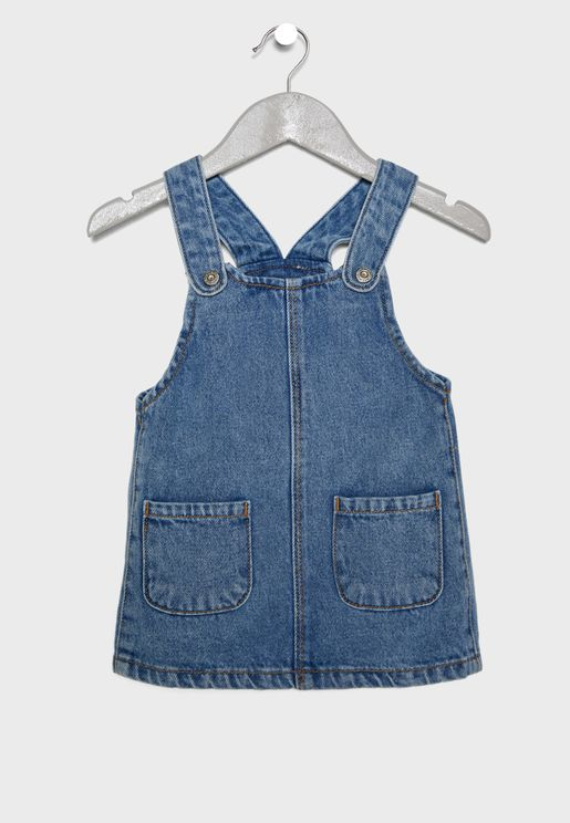 Infant Elva Denim Dungaree