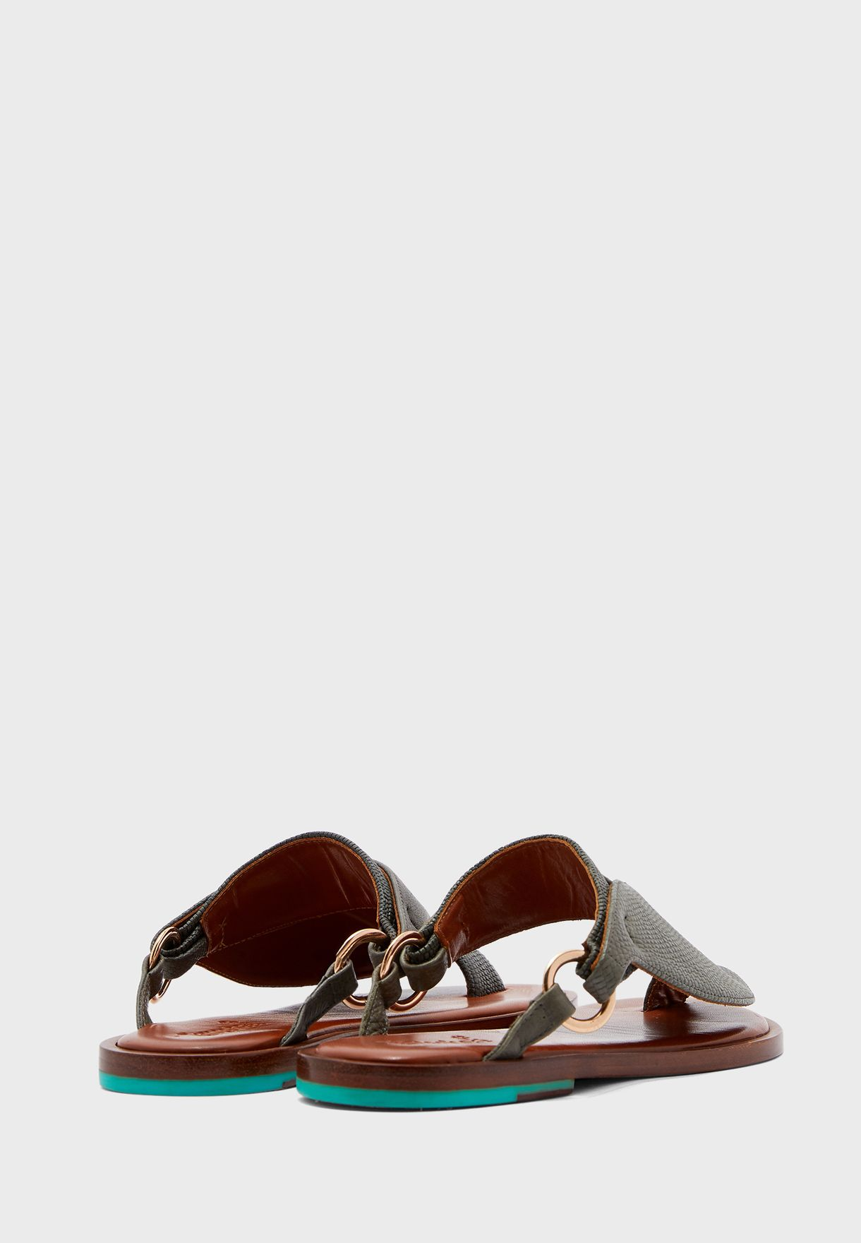 Luban Wide Strap Sandals