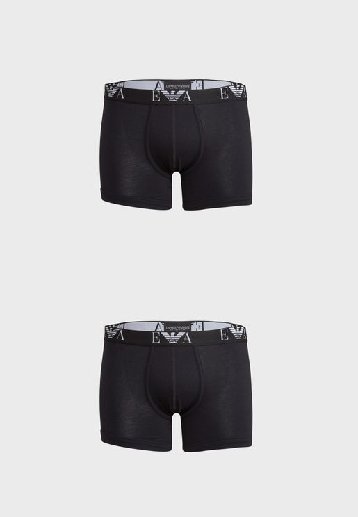 2 Pack Essential Boxers